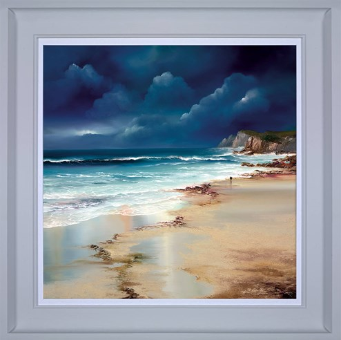 Twilight Walk by Philip Gray - Framed Embelished Canvas on Board